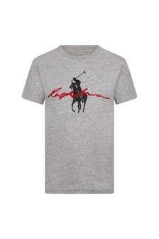 Ralph Lauren Kids Boys Cotton T-Shirt