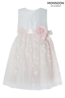 Monsoon Pink Baby Eloise 3D Dress