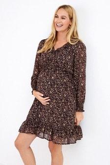 Maternity Nursing Wrap Dress