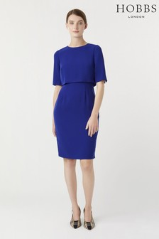 Hobbs Blue Larissa Dress