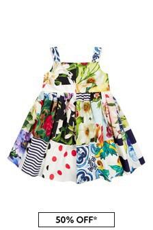 Dolce & Gabbana Kids Baby Girls Black Dress