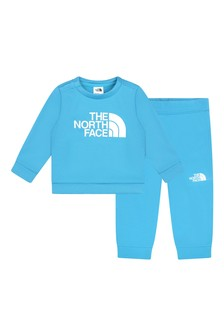 The North Face® Baby Boys Blue Tracksuit