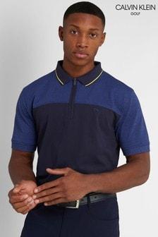 Calvin Klein Golf Blue Morris Polo