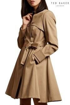 Ted Baker Pandura Fitted Mac Coat