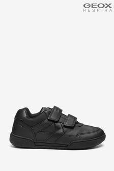 Geox Junior Boys' Poseido Black Shoes