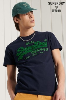 Superdry Vintage Logo Chenille T-Shirt