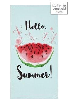 Watermelon Beach Towel by Catherine Lansfield