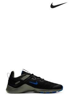 Nike Black/Blue Legend Trainers