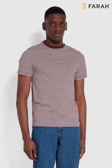 Farah Red Daytona T-Shirt