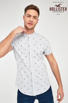 Hollister Grey Geo Shirt