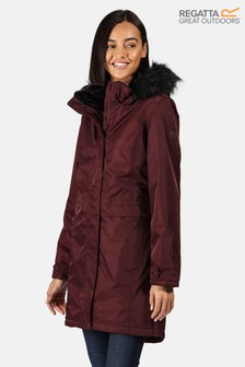 Regatta Purple Lexis Waterproof Jacket