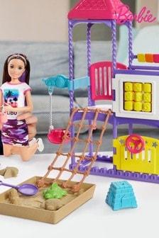 Barbie Skipper Babysitters Inc Climb n Explore Playground Dolls and Playset