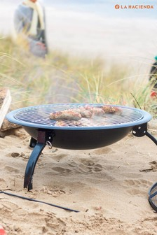 Camping Firepit with Cooking Grill by La Hacienda