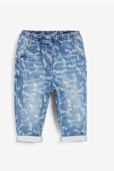 Print Pull-On Jeans (3mths-7yrs)