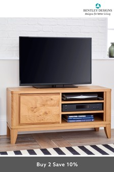 High Park Narrow Entertainment Unit by Bentley Designs