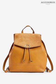 Accessorize Yellow Kimmi Backpack