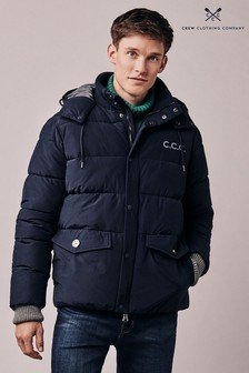 Crew Clothing Blue Ambleworth Jacket