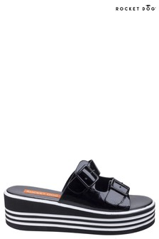 Rocket Dog Black Zanter Spree Platform Sandals
