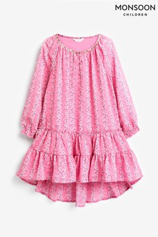 Monsoon Pink S.E.W Trisha Dress