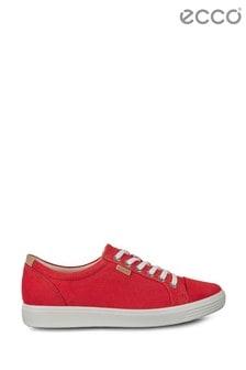 Sznurowane buty ze skóry ECCO® Soft 7 W