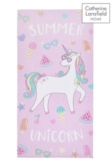 Summer Unicorn Towel by Catherine Lansfield