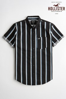 Hollister Black Stripe Shirt