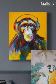 Through The Ape Vine Canvas by Gallery Direct