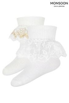 Monsoon Multi Baby Socks Two Pack