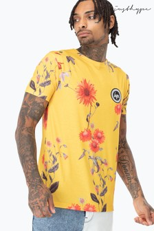 Hype. Yellow Wood Men's T-Shirt