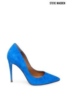 Steve Madden Blue Daisie Heel Slip-On Shoes