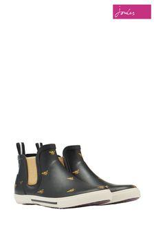 Joules Black Rainwell Sneaker Wellies