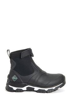 Muck Boots Black Women's Apex Mid Zip Boots