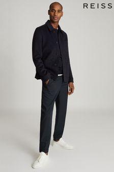 Reiss Connery Wool Blend Worker Jacket