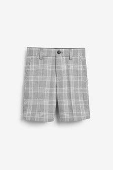 Check Formal Shorts (12mths-14yrs)