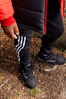 adidas Black HyperHiker Mid Junior And Youth Boots