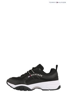 Tommy Hilfiger Black Heritage Chunky Trainers