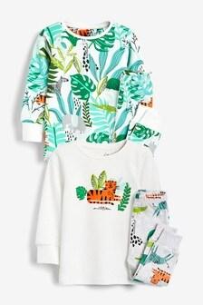 2PK Snug Safari Pyjamas (9mths-8yrs)