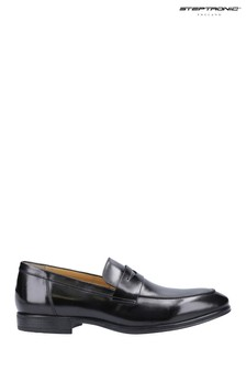 Steptronic Black Frost Slip-On Loafers