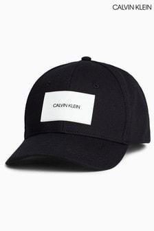 Calvin Klein Black Branded Patch Twill Cap