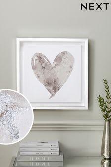 Heart Framed Art