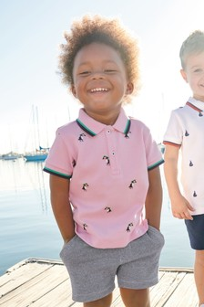 Toucan Polo And Shorts Set (3mths-7yrs)