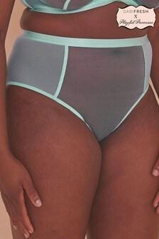 GabiFresh Misha Turquoise Strappy Knickers