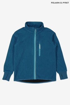 Polarn O. Pyret Blue Waterproof Fleece Jacket