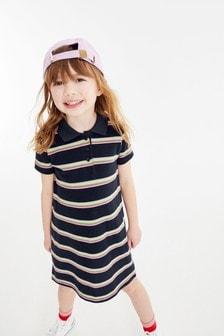 Polo Stripe Dress (3-16yrs)