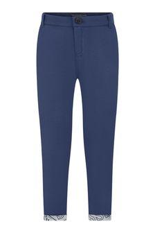 Boys Navy Blue Trousers