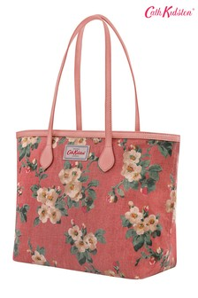 Cath Kidston® Pink Mayfield Blossom Tote Bag