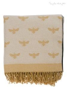Sophie Allport Knitted Bees Picnic Blanket