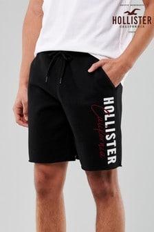Hollister Black Iconic Shorts