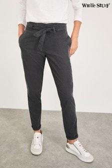 White Stuff Grey Davenport Baby Cord Trousers