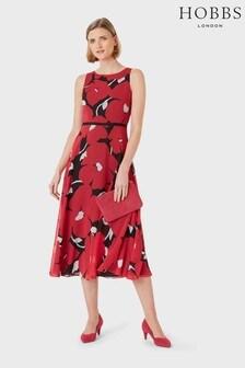Hobbs Pink Carly Dress